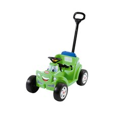 2-in-1 Cozy Roadster Push/Scoot Ride-On