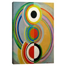 'Rythme 1938' by Sonia Delaunay Painting Print on Canvas