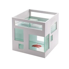 Fishhotel Aquarium Bowl in White