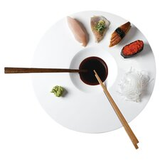 3 Piece Sushi Time Set in White