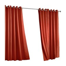 Outdoor Décor Gazebo Outdoor Solid Grommet Top Curtain Panel