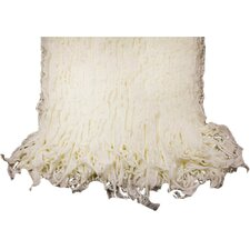 Charlotte Ruffled Acrylic Throw