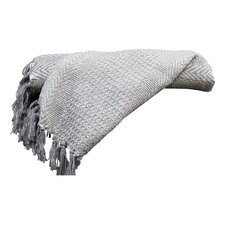 Cable Knit II Cotton Throw Blanket