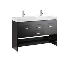 "Gloria 47"" Bathroom Vanity Set with Double Sink"