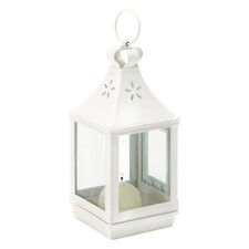 Sand Dollar Coastal Lantern