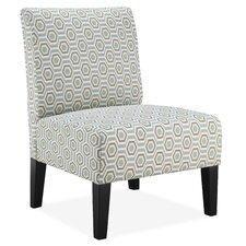 Brice Slipper Chair in Stone