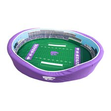NCAA Football Dog Bed