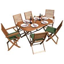 Plumley Rectangular 7 Piece Dining Set