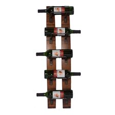 Anchorage 5 Bottle Wine Rack in Oak