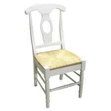 Empire Chair in White & Natural (Set of 2)