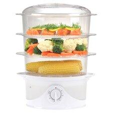 Kalorik 3 Tier Food Steamer in White