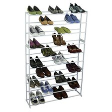Shoe Tower Rack in White
