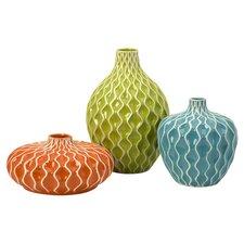Agatha 3 Piece Vase Set