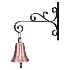 Gong Bell in Antique Brass
