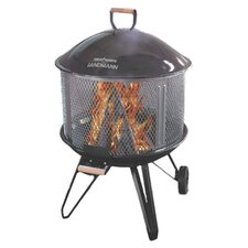 Deluxe Heatwave Fire Pit in Black
