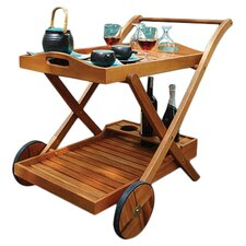 Hana Serving Cart in Natural