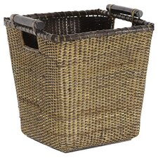 Rattan Storage Bin in Natural