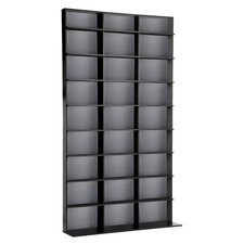Elite Media Storage Rack in Black