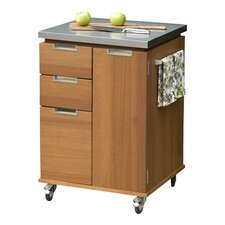 Montego Patio Kitchen Cart in Eucalyptus