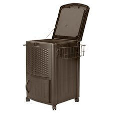 Suncast Patio Cooler in Mocha