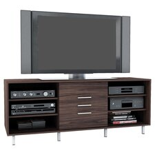 "Sedona 60"" TV Stand in Ebony Pecan"