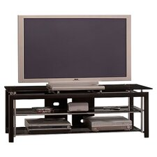"Mist 60"" TV Stand in Textured Black"