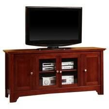 "52"" TV Stand in Walnut Brown"