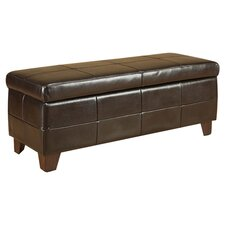 Milano Storage Bench in Brown