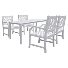 Atlantic 5 Piece Extension Dining Table Set II
