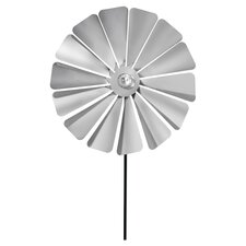 Viento Flat Edge Pinwheel in Silver