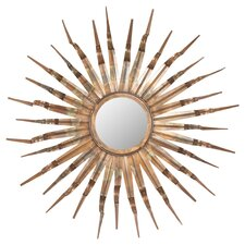 Sunburst Mirror in Copper