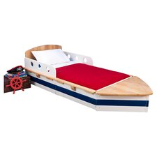Boat Toddler Bed in Natural