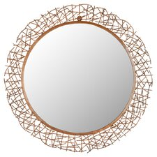 Twig Mirror in Copper
