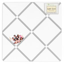Memo Board in White & Gray