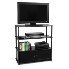 "Designs 2 Go 35"" TV Stand in Black"