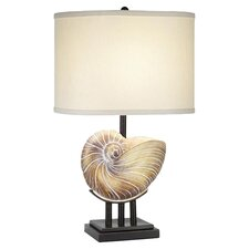 Kaanapali Seashell Table Lamp in Beige
