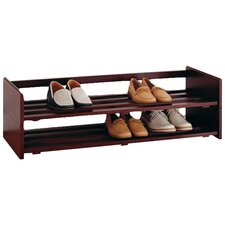 Shoe Rack in Mahogany