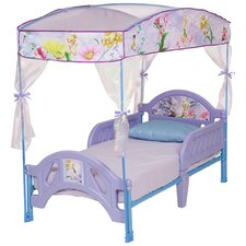 Disney Fairies Canopy Toddler Bed in Purple