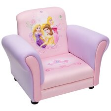 Disney Princess Kids Club Chair in Pink