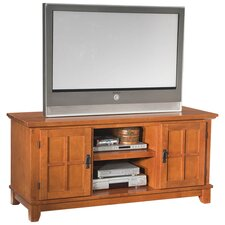 "Arts & Crafts 56"" TV Stand in Cottage Oak"