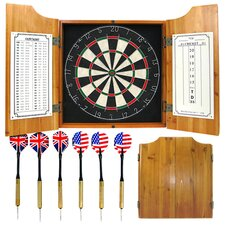 Dartboard Cabinet in Natural