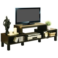 "Parke 60"" TV Stand in Dark Brown"
