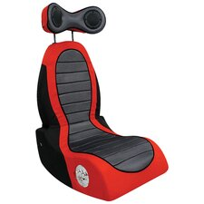 Boom Pulse Gaming Chair in Red & Black