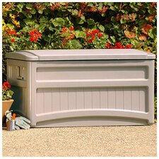 Suncast Abajo Deck Storage Box in Taupe