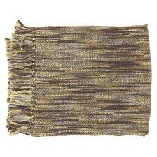 Teegan Throw Blanket in Brown