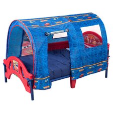 Disney Pixar Cars Tent Toddler Bed in Blue