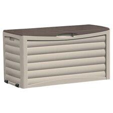 Suncast Delano Deck Storage Box in Light Taupe & Mocha