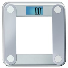 Digital Bathroom Scale in Silver