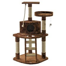 "47"" Cat Tree in Brown"