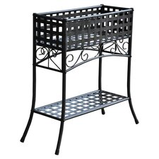 Mandalay Wrought Iron Dual Plant Stand